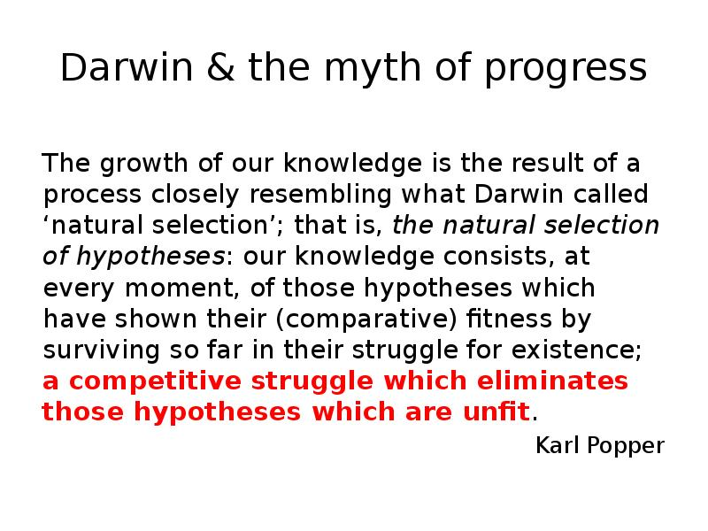 science an the myth of progress essay A provocative critique of western progress from a scientific perspective it is a myth, he contends, that progress depends on a growing economy wessels explains his theory with his three laws of sustainability: (1) the law of limits to growth, (2) the second law of thermodynamics, which exposes.