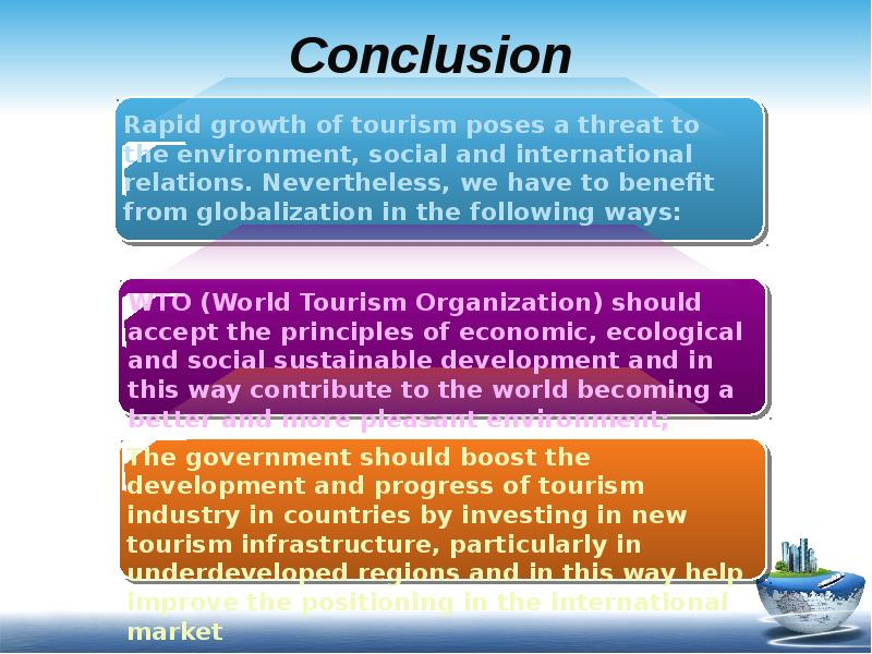 globalization and tourism in the bahamas The bahamas has long been attuned to positioning itself as a competitive player in its major industries attractive commercial, geographic, social and political conditions designed in the in this increasingly globalized world, the bahamas will likely find itself considering other international trade arrangements.