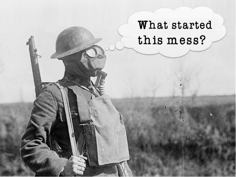 wwi causes Possibly the single most pondered question in history - what caused the unbound, senseless slaughter that was the first world war it wasn't, like in world war two, a case of a single.