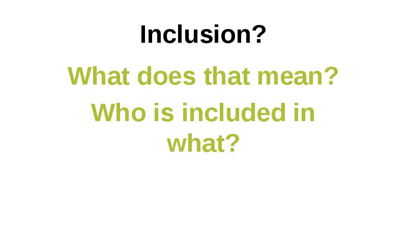 explain measures to support inclusion in a diverse early year s setting Advice and support about diversity, equality and inclusion, give an example explain how practices that support diversity, equality and inclusion reduce the likelihood of discrimination diversity, equality and inclusion in adult social care settings question 1 explain.