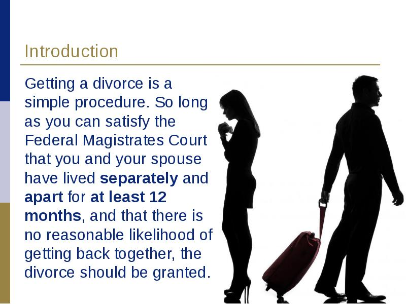 an introduction to the causes of divorce in modern world Title: the causes of divorce paragraph 1: introduction good beginning: from the past to present, people all over the world have determined to live topic sentence: another cause to confirm the recent increase in divorce rates is stress in modern living supporting idea: some people are laid off.