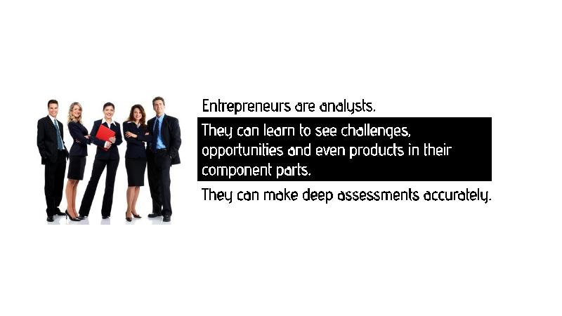 what makes a good entrepreneur essay An entrepreneur must possess good leadership qualities to become a successful entrepreneur because leadership is the important aspect of entrepreneurship the entrepreneur must have an ability to lead so that he can induce the people to work with confidence and zeal.
