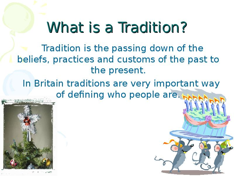 importance of traditions of customs Cultural traditions are important because they transmit shared values, stories and goals from one generation to the next traditions encourage groups of people to create and share a collective identity, which in turn serves to shape individual identities cultural traditions are expressions of a.