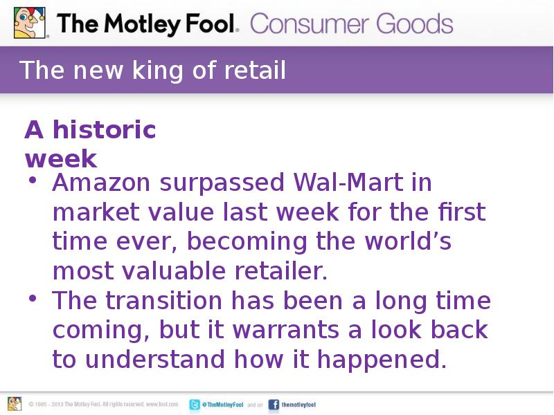 the retail king wal mart essay Free essay: retail super-giant wal-mart has fought its way to becoming the world's largest company much of their success can be attributed to providing a.