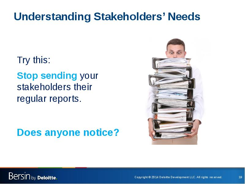 needs of various stakeholders Communities, particularly those most vulnerable are the key stakeholders in disaster management the local governments need to have considerable knowledge of the hazards to which their communities are exposed thus, the local governments must be actively involved in the design and maintenance of.