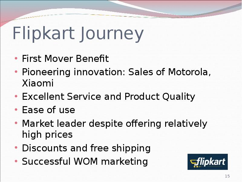 flipkart innovation Why do indian startups like ola cabs and flipkart but the weakness of this argument is apparent the moment the real flipkart innovation -introducing cod -is.