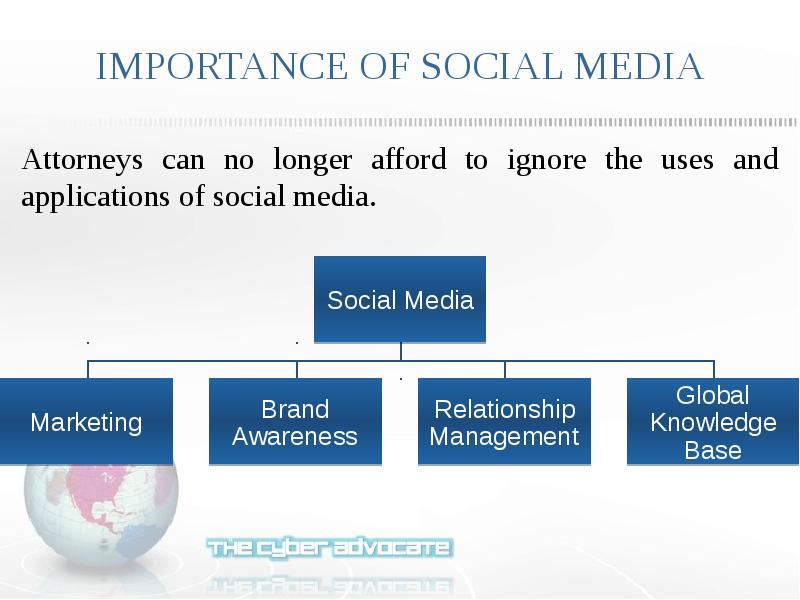 legal implications of social media and Advice on using social media to promote your business and the benefits and risks of using social media.