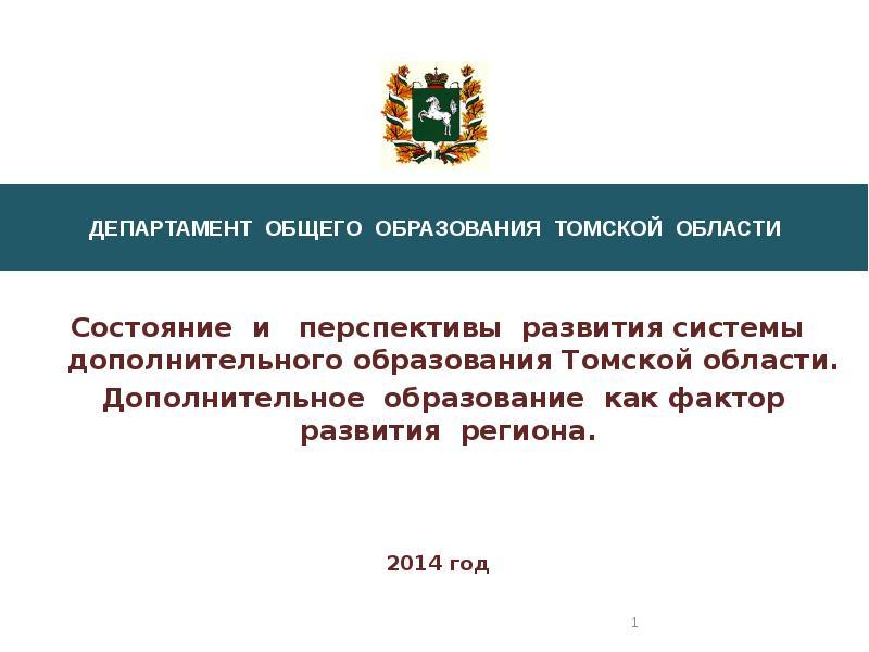 Доклад развитие системы дополнительного образования 3542