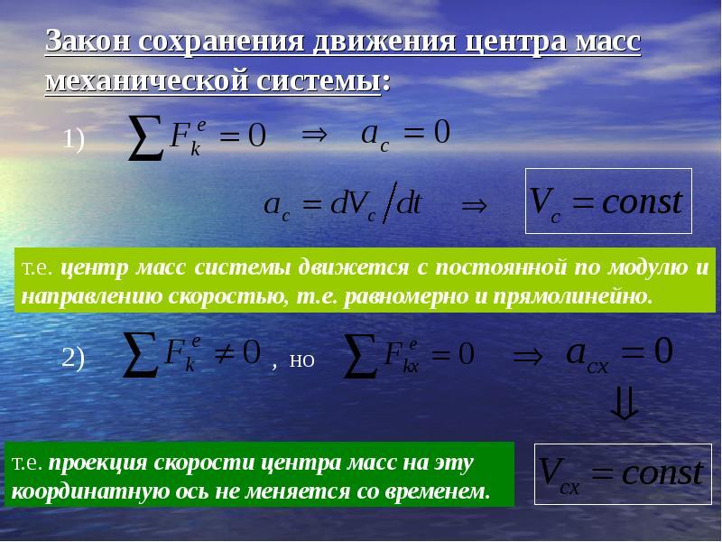 Реферат на тему общие теоремы динамики 3220