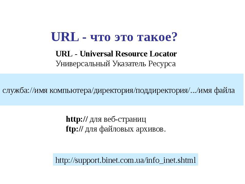 Что такое url сайта компании скачать программу для создания сайта игры