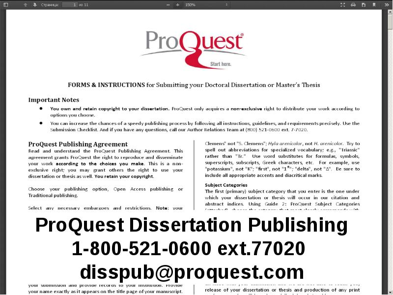 proquest and dissertations Comprehensive collection of citations and abstracts to dissertations & theses from around the world from 1743 to the present day does not include full text of the dissertations except for those which have been published as open access.