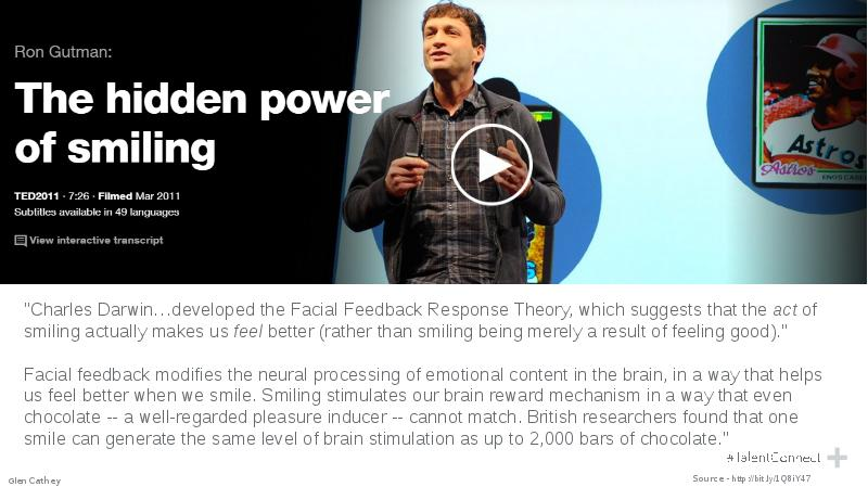ted talk the hidden power of smiling