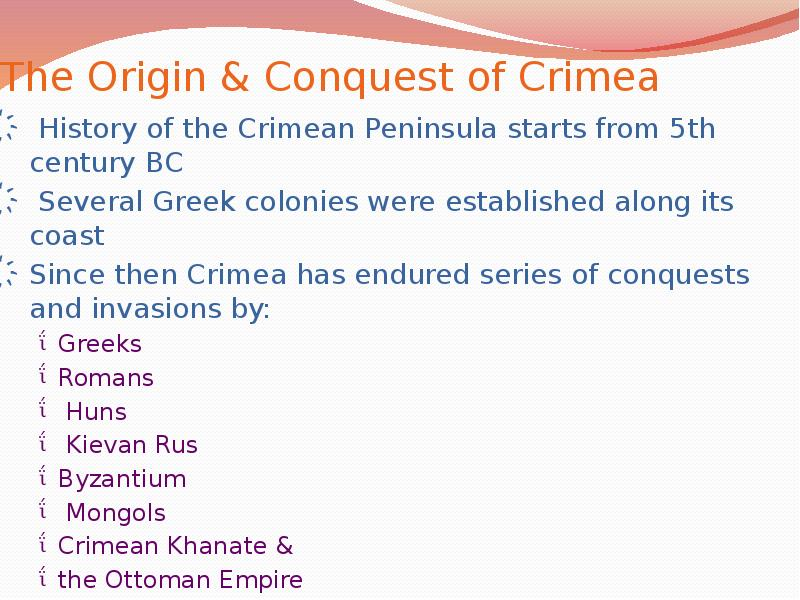 the crimean crisis essay Russia's annexation of crimea: an analysis an analysis under the principles of its ordering of ukrainian forces to withdraw from the crimean.