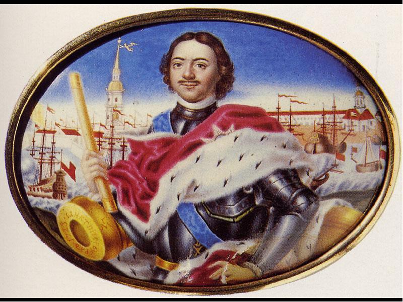 петровская эпоха в картинках традиционной для