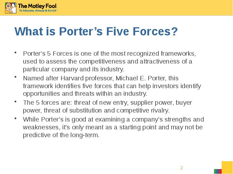 gsk porter 5 forces Porter's five forces of buyer bargaining power refers to the pressure consumers can exert on businesses to get them to provide higher quality products, better customer service, and lower prices.