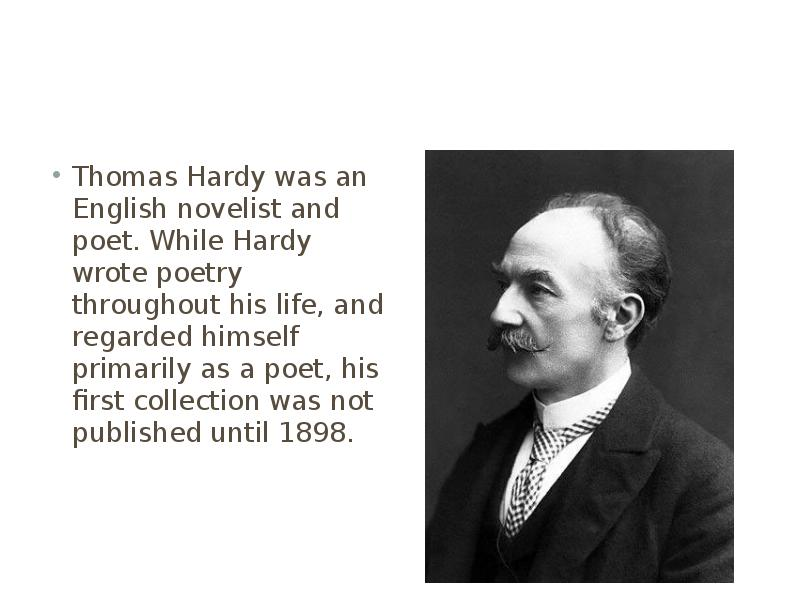 thomas hardy The latest tweets from thomas hardy society (@hardysociety) dedicated to advancing education in the works of #thomashardy by promoting in every part of the world appreciation and study of these works.