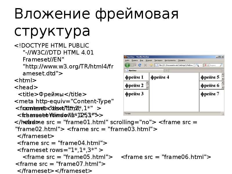 Фрейм создание сайта продвижение сайтов белгороде