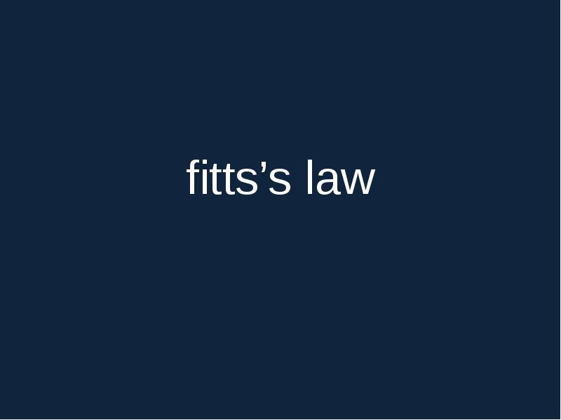 fitts law Fitts' law synonyms, fitts' law pronunciation, fitts' law translation, english dictionary definition of laws - the first of three divisions of the hebrew scriptures comprising the first five books of the.