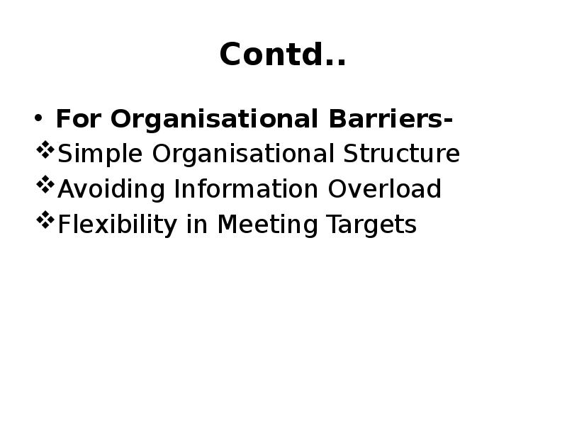 barriers to communication in public organisations Intercultural communication in south african intercultural communication in south african organisations barriers to formal communication in the.