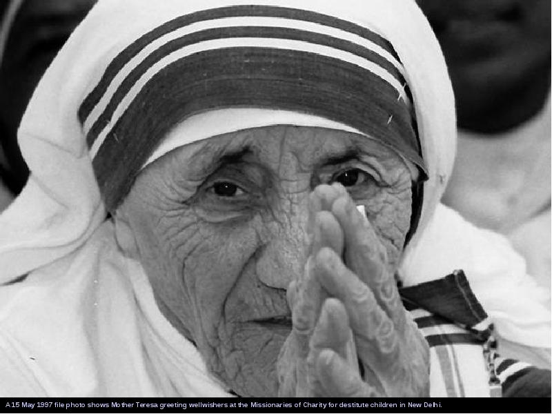 essay of mother teresa the saint of gutters Essay on mother teresa it was a tragic and irreparable loss to kolkata and india in particular and the entire humanity in general her mission and ministry of mercy and compassion were limitless and ever expanding.